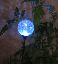 Moonrays 91251 Color Changing Solar Light