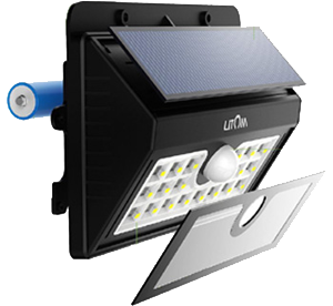 Litom Solar Lights 20 LED Motion Sensor