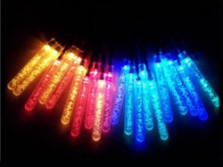 5M 20 Multi Color Icicle String Light